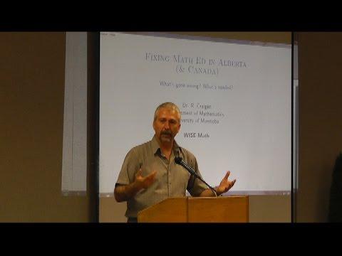 Alberta Math & Education Forum - Part 4