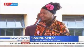 president Uhuru order\'s a reduction on cost of electricity on small and medium enterprises