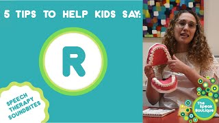 Ep. #23 5 Tips to Help Kids say R