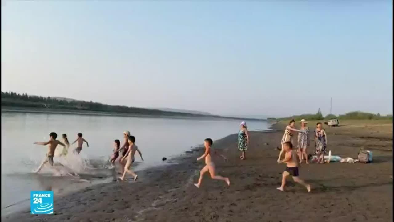 أبرد منطقة في روسيا في سيبيريا الشرقية تتخطى فيها درجة الحرارة 38 مئوية