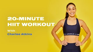 Charlee Atkins와 함께하는 20 분 체중 HIIT 운동
