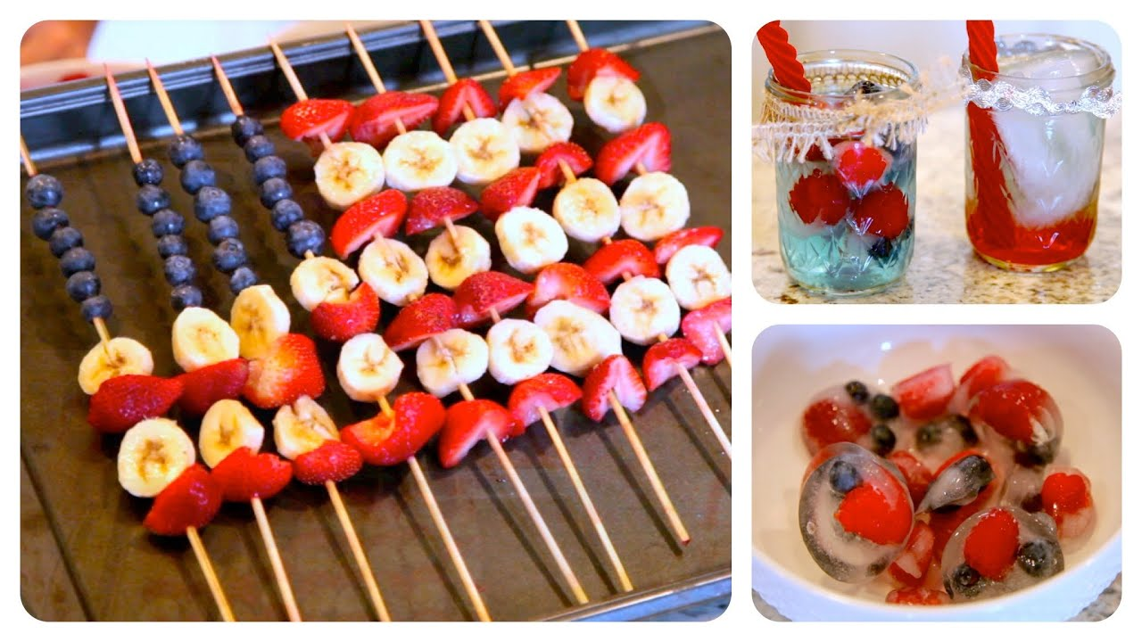 Diy Red White And Blue Treats 4th Of July Ideas Youtube