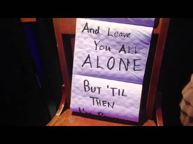 """Lie Here Tonight"" Lyric Video"
