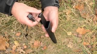 Schwedenstahl im Test - Bushcraft Messer Fireknife von Light My Fire 1/2