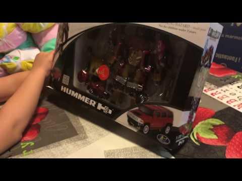 RoadBot HUMMER 3 робот трансформер