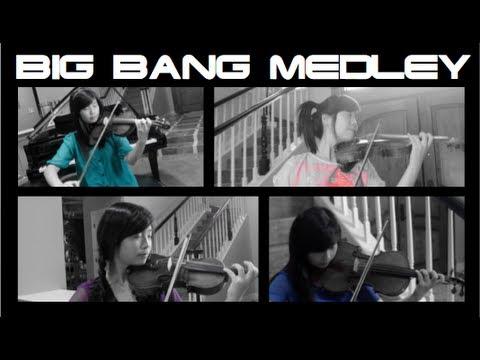 Big Bang Medley - Tiffany Chang Violin/Viola/Piano Cover