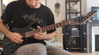 Kreator - Murder Fantasies Guitar Cover (with solo)