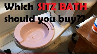 REVIEW OF sitz baths for hemorrhoids