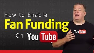 Video How to Enable Fan Funding on Your YouTube Channel - Tip Jar download MP3, 3GP, MP4, WEBM, AVI, FLV Juli 2018