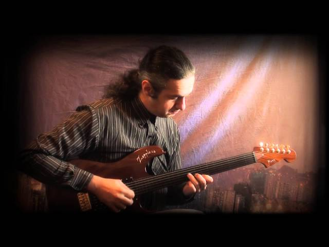 MARCELLO ZAPPATORE plays BISTRO FADA with fretless guitar MAMA ZAPPLESS