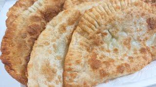 Чебуреки/ Хрустящая корочка и нежная картофельная начинка