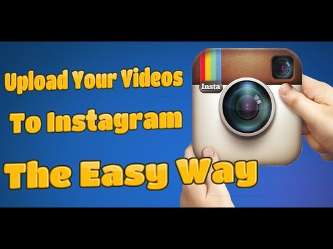 how to add video to instagram from computer