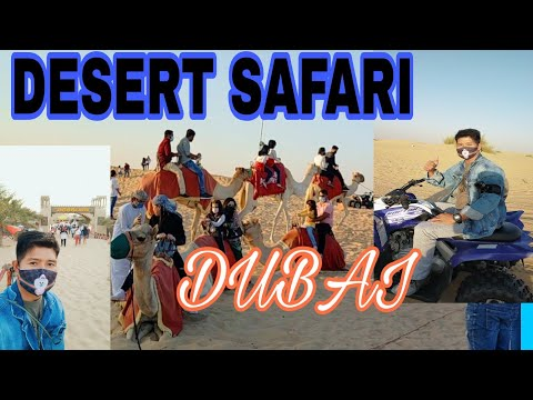 DESERT SAFARI DUBAI ( first time experience after 7 years)