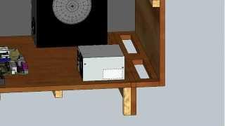 Arcade Cabinet Sketchup Design