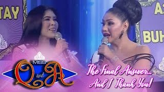It's Showtime Miss Q and A Grand Finals: Rianne Azares vs. Matrica Mae Matmat Centino | Debattle
