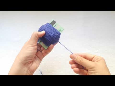 basit pratik ponpon yapımı simple pompom making #ponponyapımı #kolayponponyapımı