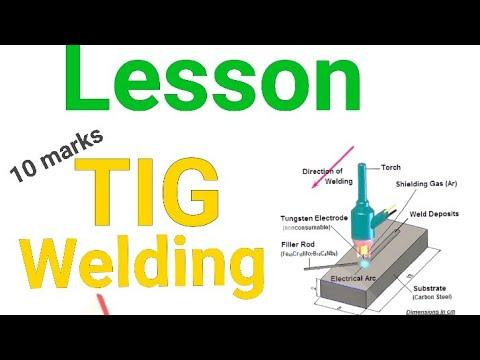 Lesson Tig Welding Gtaw Gas Tungsten Arc Welding What Is Tig Welding Tig Welding Process Youtube