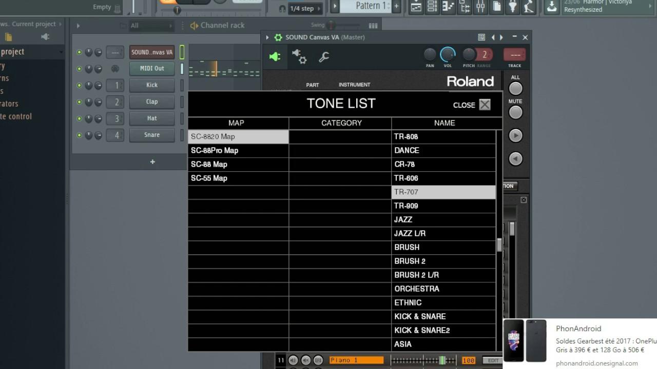 Roland Sound Canvas VST All Drum Kits
