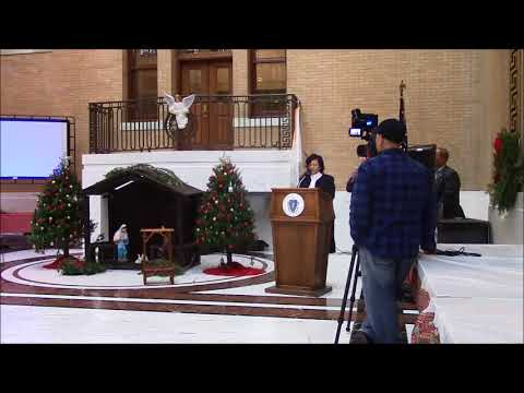 The 2nd Annual Celebration of the Nativity at the Massachusetts State House