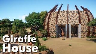 Planet Zoo - Giraffe House & Habitat Speed Build