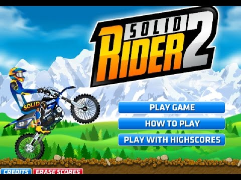 Solid Rider 2 - Play on RacingGames2.com