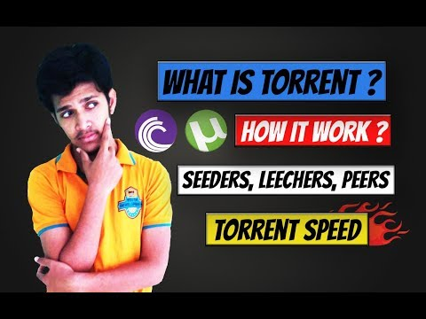 [ Hindi] What is Torrent ? | How it Works...