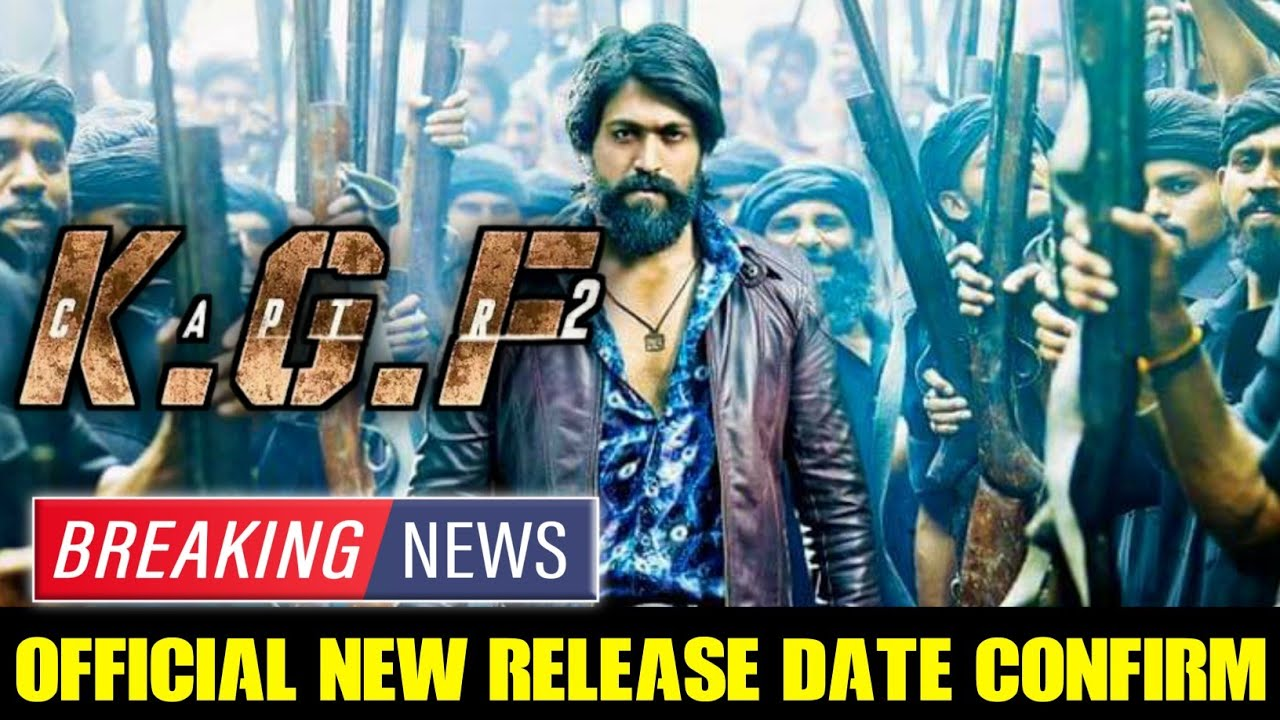 Download Breaking News 🛑 KGF Chapter 2 New Official Release Date Confirm|KGF2 New Release Date|Yash|Prasanth