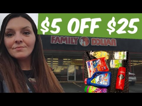 I Tried Couponing At Family Dollar.........