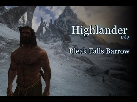 Skyrim Requiem | Highlander vs Bleak Falls Barrow