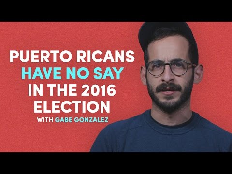 Puerto Ricans Have No Say in the 2016 Election