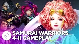 30 Minutes of Samurai Warriors 4-II Gameplay - Story Mode