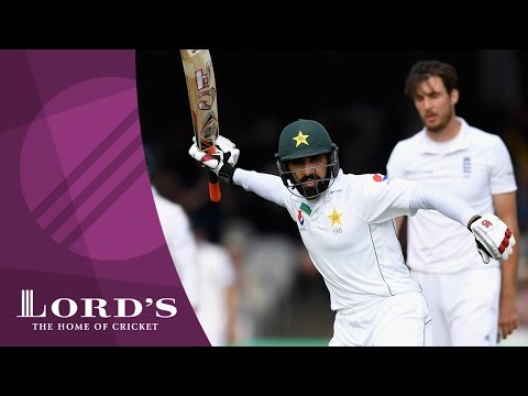 Misbah-ul-Haq on scoring a Test century at Lord's | Honours Board Legends
