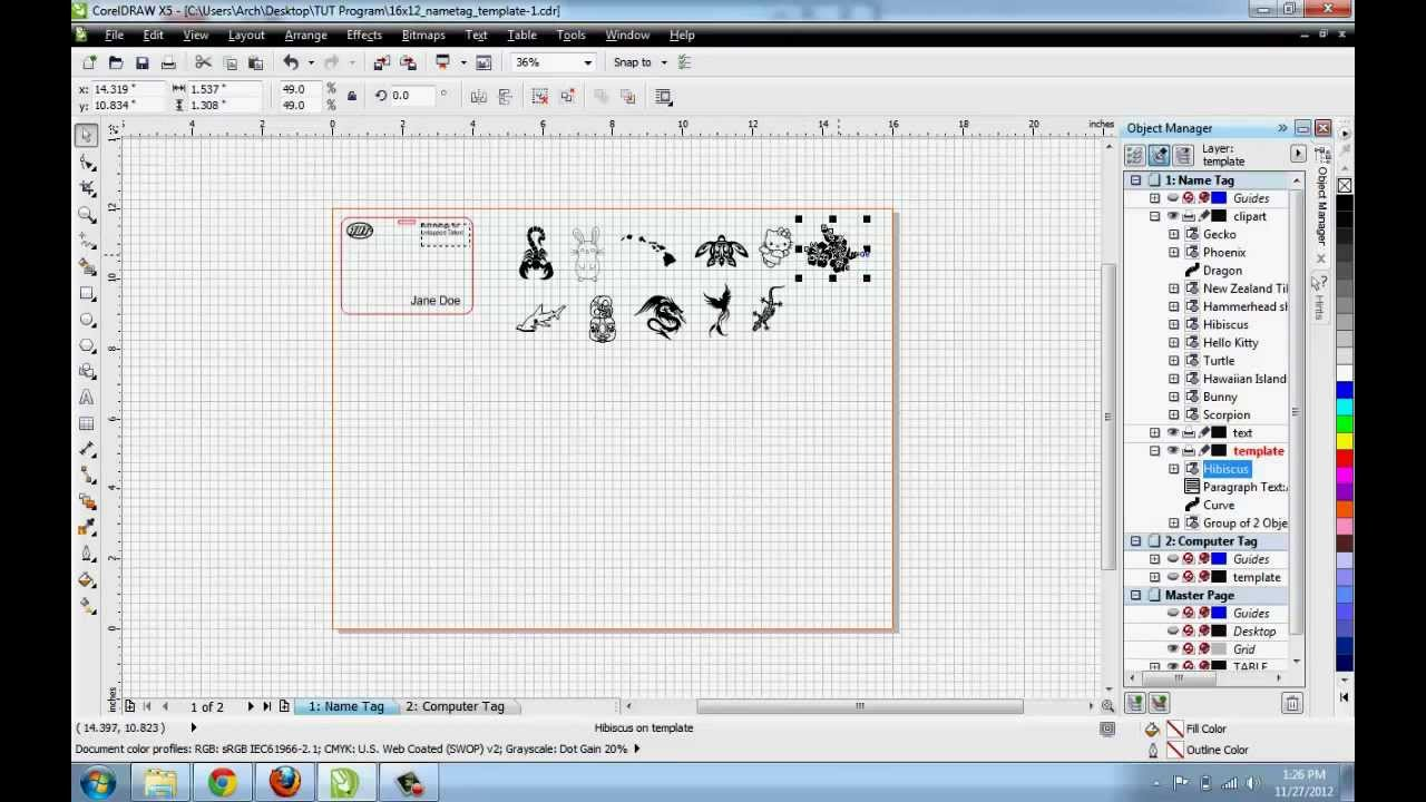 Corel draw clipart images - Coreldraw Adding Clipart