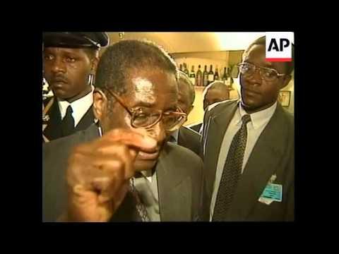 EGYPT: EU-AFRICA SUMMIT: MUGABE