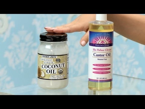 How To Make Your Hair Grow with Coconut & Castor Oil