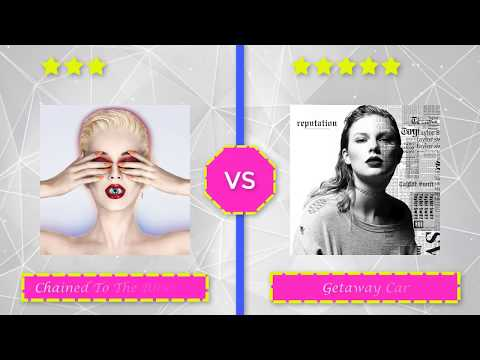 Witness VS Reputation [Album Battles]