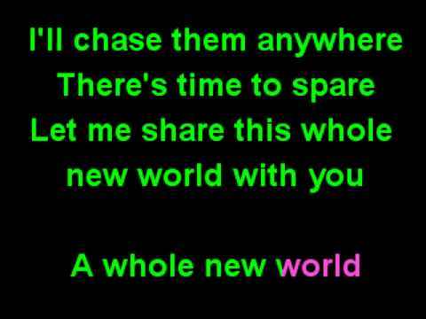 A whole new world karaoke - Peabo Bryson & Regina Belle