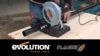 Циркулярная пила Evolution Rage 4(Новый тип переносных отрезных станков -- сочетает точность отрезного станка и легкость и цену ручной циркул..., 2010-07-19T12:56:27.000Z)