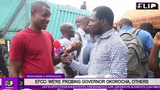 EFCC: WE'RE PROBING GOVERNOR OKOROCHA, OTHERS