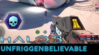 Halo 5: Guardians - 100 Kill Warzone Game with Unfriggenbelievable
