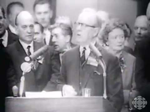 1968 Liberal Convention - Pearson Retires, Hands Government to Trudeau