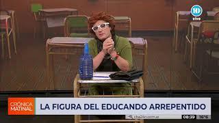 """""""La figura del educando arrepentido"""", según Iris"""