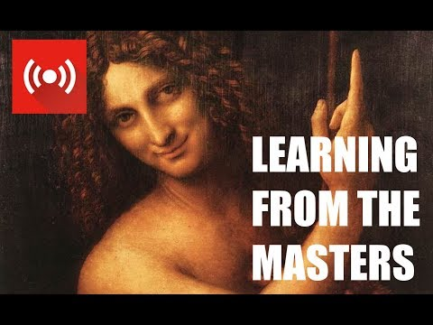 LEARNING FROM THE MASTERS - DA VINCI - Exploring the style and technique of the Renaissance Master