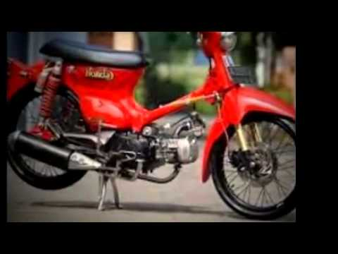 Modifikasi Motor Minti Honda C70 Mesin Honda Supra X Youtube