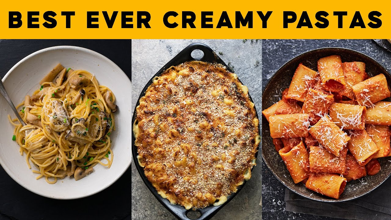 Best-ever Creamy Pastas You Can Make #AtHome #WithMe   Marion's Kitchen
