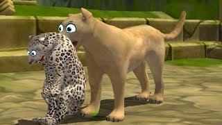 СИМУЛЯТОР ДИКОЙ КОШКИ #25 Новый СИМ Семьи Пумы как маленький котенок #ПУРУМЧАТА