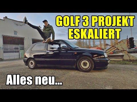 DAS GOLF 3 PROJEKT IST AUẞER KONTROLLE | ALLES NEU!