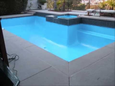 Do it yourself pool restoration and resurfacing youtube for Swimming pool resurfacing