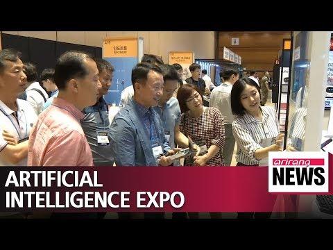 Korean AI businesses attract investors at expo in Seoul