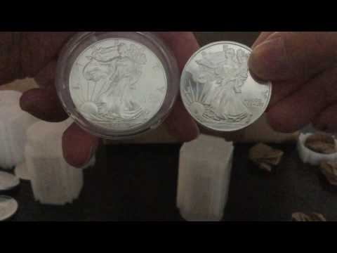 Gainesville Coins Unboxing - Generic Silver Rounds purchased at Spot